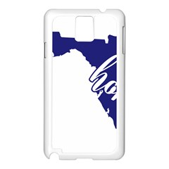 Florida Home  Samsung Galaxy Note 3 N9005 Case (white)