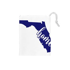 Florida Home  Drawstring Pouches (Small)