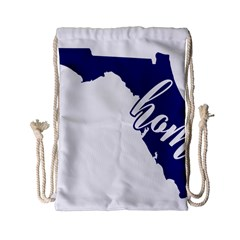 Florida Home  Drawstring Bag (Small)