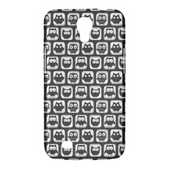 Gray And White Owl Pattern Samsung Galaxy Mega 6.3  I9200 Hardshell Case