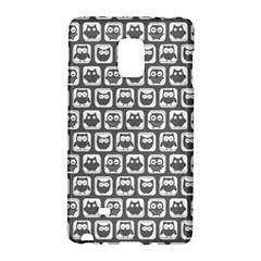 Gray And White Owl Pattern Galaxy Note Edge