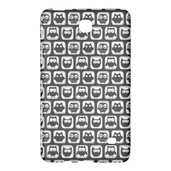 Gray And White Owl Pattern Samsung Galaxy Tab 4 (7 ) Hardshell Case