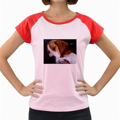 Beagle Sleeping Women s Cap Sleeve T-Shirt