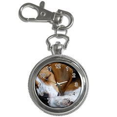 Beagle Sleeping Key Chain Watches