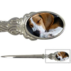 Beagle Sleeping Letter Openers