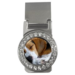 Beagle Sleeping Money Clips (CZ)
