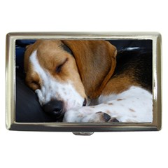 Beagle Sleeping Cigarette Money Cases