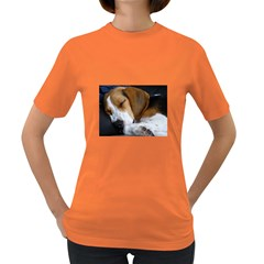 Beagle Sleeping Women s Dark T-Shirt