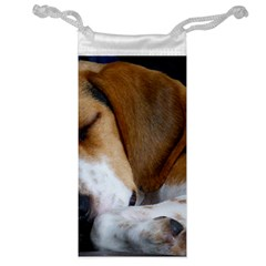 Beagle Sleeping Jewelry Bags