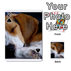 Beagle Sleeping Playing Cards 54 Designs