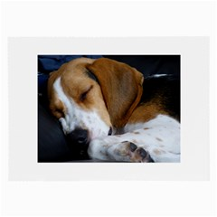 Beagle Sleeping Large Glasses Cloth (2-Side)