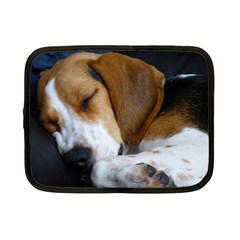 Beagle Sleeping Netbook Case (Small)