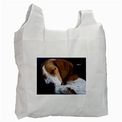 Beagle Sleeping Recycle Bag (One Side)
