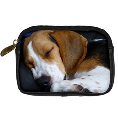Beagle Sleeping Digital Camera Cases