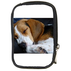 Beagle Sleeping Compact Camera Cases