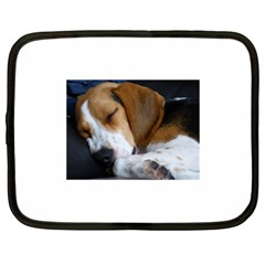 Beagle Sleeping Netbook Case (XL)