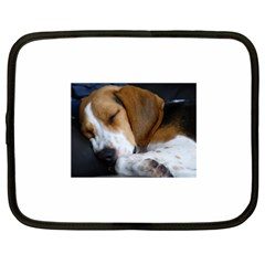 Beagle Sleeping Netbook Case (XXL)