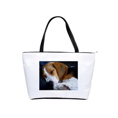 Beagle Sleeping Shoulder Handbags