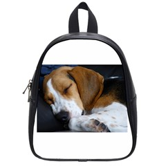 Beagle Sleeping School Bags (Small)