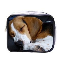 Beagle Sleeping Mini Toiletries Bags