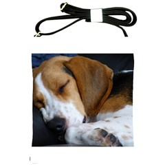 Beagle Sleeping Shoulder Sling Bags