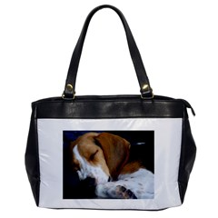Beagle Sleeping Office Handbags