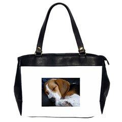 Beagle Sleeping Office Handbags (2 Sides)