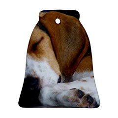 Beagle Sleeping Ornament (Bell)