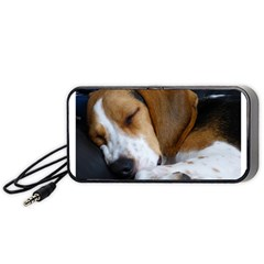 Beagle Sleeping Portable Speaker (Black)