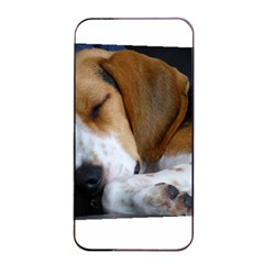 Beagle Sleeping Apple iPhone 4/4s Seamless Case (Black)