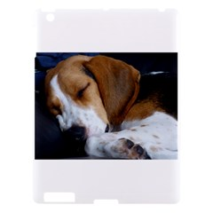 Beagle Sleeping Apple iPad 3/4 Hardshell Case