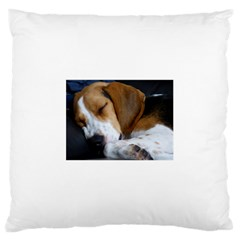 Beagle Sleeping Large Cushion Cases (One Side)