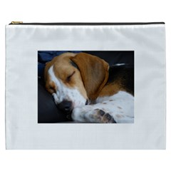 Beagle Sleeping Cosmetic Bag (XXXL)