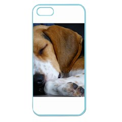 Beagle Sleeping Apple Seamless iPhone 5 Case (Color)