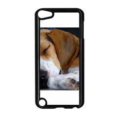 Beagle Sleeping Apple iPod Touch 5 Case (Black)