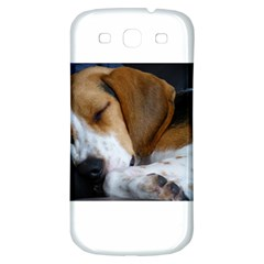 Beagle Sleeping Samsung Galaxy S3 S III Classic Hardshell Back Case