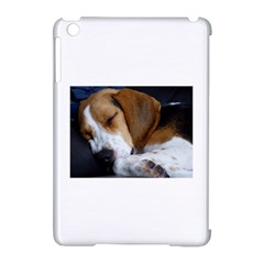 Beagle Sleeping Apple iPad Mini Hardshell Case (Compatible with Smart Cover)