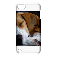 Beagle Sleeping Apple iPod Touch 5 Hardshell Case with Stand