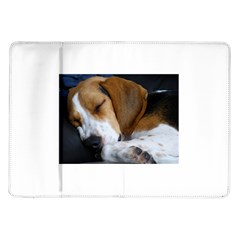 Beagle Sleeping Samsung Galaxy Tab 10.1  P7500 Flip Case
