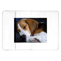 Beagle Sleeping Samsung Galaxy Tab 8.9  P7300 Flip Case