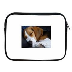 Beagle Sleeping Apple iPad 2/3/4 Zipper Cases
