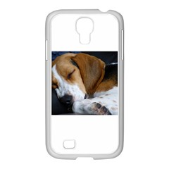 Beagle Sleeping Samsung GALAXY S4 I9500/ I9505 Case (White)