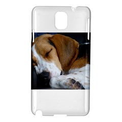 Beagle Sleeping Samsung Galaxy Note 3 N9005 Hardshell Case