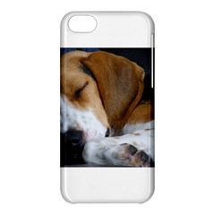 Beagle Sleeping Apple iPhone 5C Hardshell Case