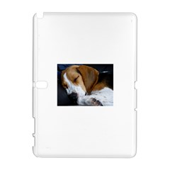 Beagle Sleeping Samsung Galaxy Note 10.1 (P600) Hardshell Case
