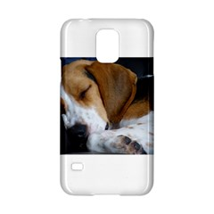 Beagle Sleeping Samsung Galaxy S5 Hardshell Case