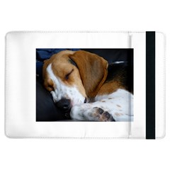 Beagle Sleeping iPad Air Flip