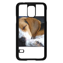 Beagle Sleeping Samsung Galaxy S5 Case (Black)