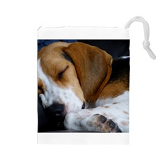 Beagle Sleeping Drawstring Pouches (Large)