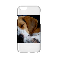 Beagle Sleeping Apple iPhone 6/6S Hardshell Case